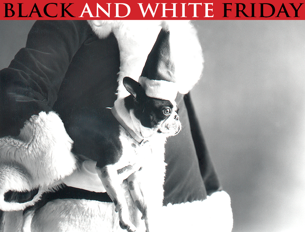 Black and White Sale